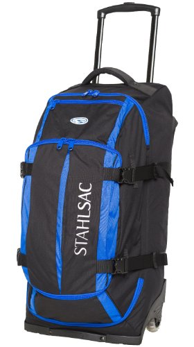 - Stahlsac Curacao Clipper Wheeled Dive Bag (Blue/Black)