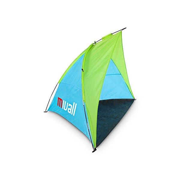 Mivall Spiaggia Conchiglia Viaggio da Spiaggia con Protezione UV Fattore 30e Air Flow Sistema 2 spesavip