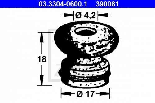 Bremsfl/üssigkeitsbeh/älter ATE 03.3304-0600.1 Stopfen