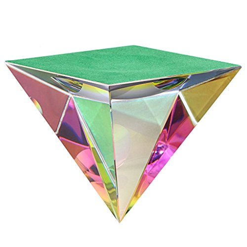 OwnMy Crystal Pyramid Iridescent Suncatchers Prism Rainbow