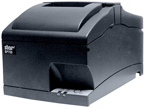 Star Micronics SP742ME Ethernet (LAN) Impact Receipt Printer with Auto-cutter and Internal Power Supply - Gray