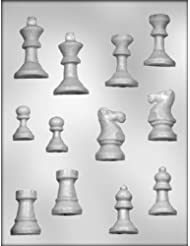 CK Products 3-D Chess Set Chocolate Mold
