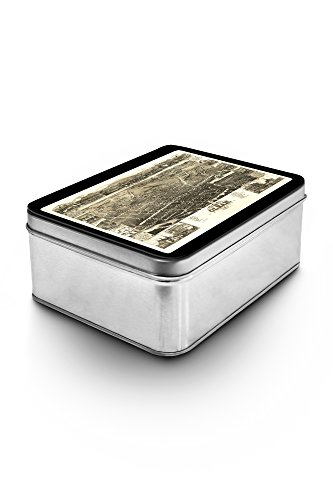 Olean, New York - Panoramic Map (Keepsake Tin) (Olean New York compare prices)