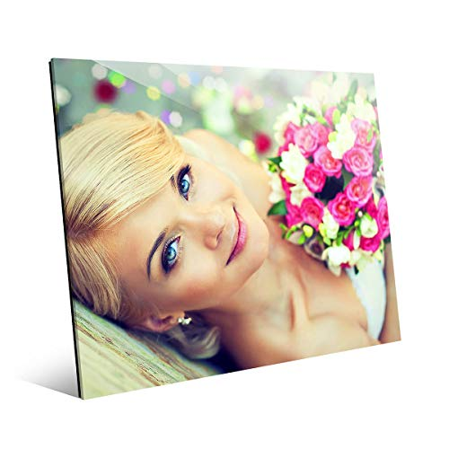(Picture Wall Art Your Photo on Custom Glass 20 x 16 Horizontal Print)