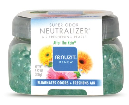 Dial 1722983 Renuzit Super Odor Neutralizer Pearl Scents After the Rain Air Freshener, 5.64oz Bottle (Pack of 8)