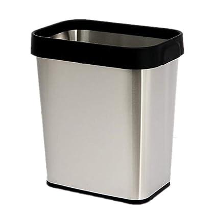 Amazon.com: CGH - Cajas de basura de acero inoxidable, bolsa ...