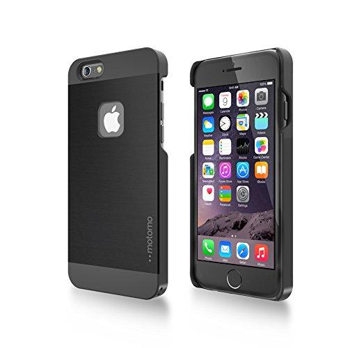 iPhone 6 Plus Case iPhone 6 Plus (5.5 inch) Case Clear [Slim Fit] [Scratch Resistant] Two Tone Hybrid Clear Case INO METAL (iPhone6+) AL1 Black/Black
