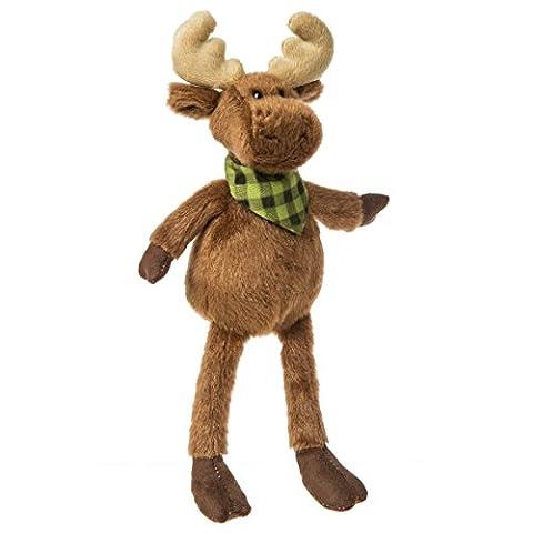 Mary Meyer Twinwoods Soft Toy, Baby Moose (Rugged Bear Plush)