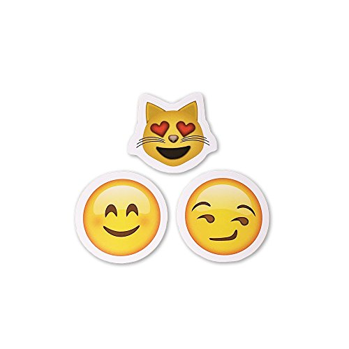 I EM JI 15 Emoji Stickers | Each Over 2