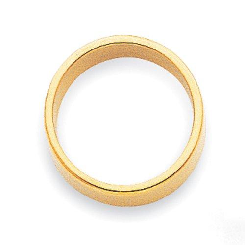 14k Yellow Gold 2mm Flat Band by Jewelry Pot (Image #2)