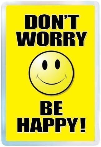 Happy Days Fridge Magnet Fridgemagnets iwantthatsign.com Dont Worry Be Happy Fridge Magnet Fun Fridge Magnet Smiley Face Fridge Magnet,