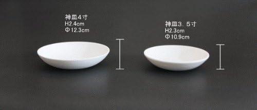 神具 10個セット 神皿 ビスク (無釉) 3.5寸 (直径10.9cm) 神具 神道 神棚 お供え お清め おはらい 業務用