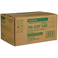 Fujifilm 6x8 / 6x9 Media for ASK2500 Dye Sub Printer, 2 Rolls of 273 Sheets