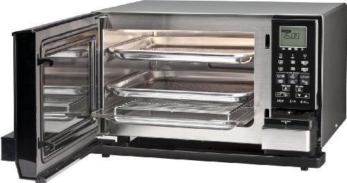 Sharp Ax1100in Mikrowelle Mit Dampfgarer Schwarz Silber Amazon De