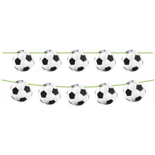 Bunting Football Shapes 8 - 6m lon by CC