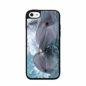 Kissing Dolphins - Phone Case Back Cover (iPhone 5/5s - 2-piece Dual Layer)