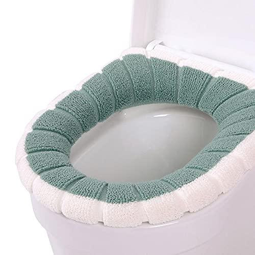Rongxin Toiletbril Warmer Winter Comfortabele Zachte Verwarmde Wasbare Toilet Seat Mat Badkamer Accessoires Voor Home…