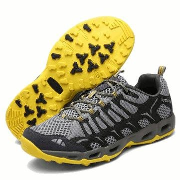 Blaulover US 7.5-10 Outdoor Outdoor Outdoor Men Es Sport Soft Running Klettern Wandern Mesh Athletic Trail Turnschuhe Schuhe - 8,5 - Dunkelblau e7f453