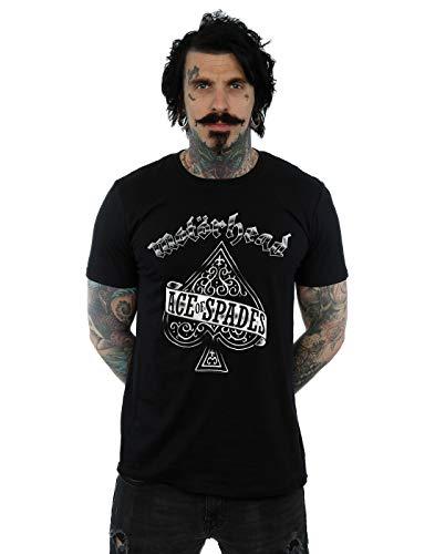 Motorhead Men's Ace of Spades T-Shirt Black Small
