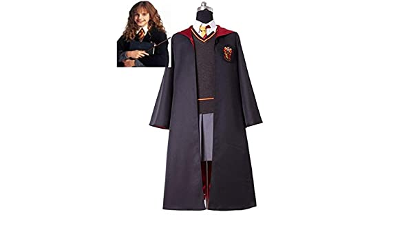 KUANHAO 1 Piezas Uniforme Hermione Granger Cosplay Disfraz niño ...