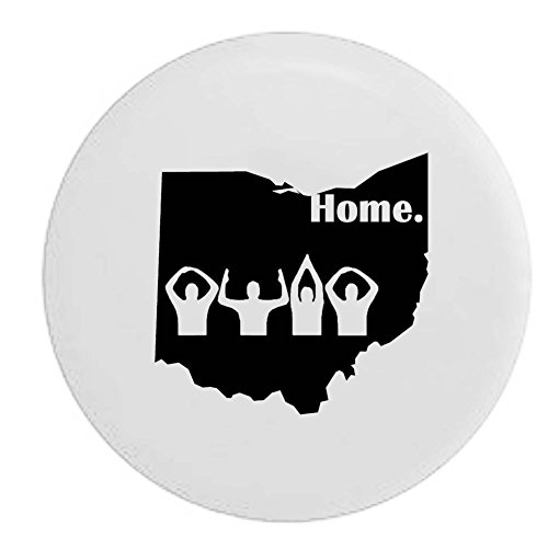 Ohio Home State Edition Rv Spare Tire Cover Oem Vinyl