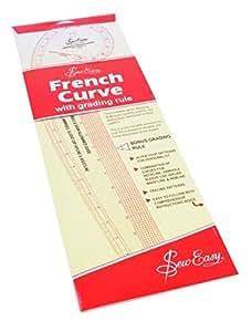 Hemline Sew Easy - Curvígrafo para costura (medidas imperiales)
