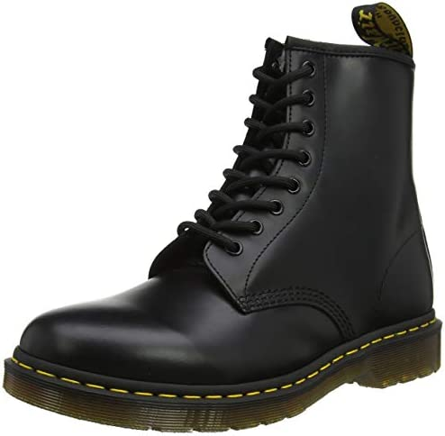 Dr. Martens Men's Boots, Black Smooth, 44 EU: Amazon.com.au: Fashion