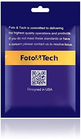 Foto/&Tech 1 Piece 2-in-1 Black Metallic Rapid-Mounting Plate Includes Tripod Mount for Quick Rapid Neck Straps