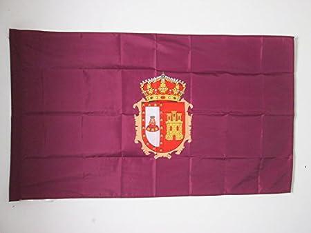 AZ FLAG Bandera de la Provincia DE Burgos 150x90cm para Palo - Bandera Burgos EN Castilla Y LEÓN 90 x 150 cm: Amazon.es: Jardín