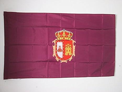 AZ FLAG Bandera de la Provincia DE Burgos 150x90cm para Palo - Bandera Burgos EN Castilla Y LEÓN 90 x 150 cm