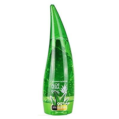 Aloe Vera Gel,Kasien 1PC Aloe Vera Gel Moisturizing Lotion Facial Cream Perfectly Plain To India (260ML): Beauty