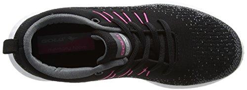 Black Gola Mujer Zapatillas para Interior Negro Saint Grey Deportivas Pink para HBPwr8Hq