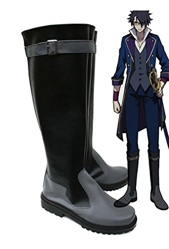 Bromeo K RETURN OF KINGS Anime Fushimi Saruhiko Cosplay Schuhe Stiefel Stiefeletten