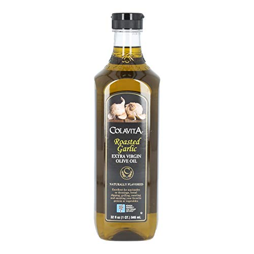 Image of Colavita Roasted Garlic Extra Virgin Olive Oil, Low FODMAP, 32 Fl