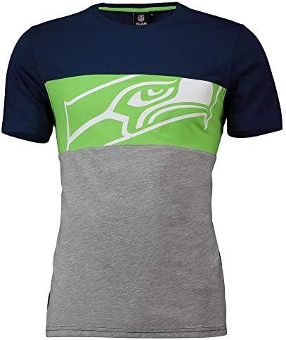 Fanatics Flexfit Seattle Seahawks T Shirt Cut and Sew