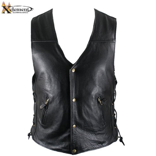 Xelement Leather Tie - 4
