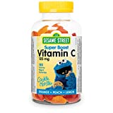 Webber Naturals Sesame Street Childrens Vitamin C Gummy 180 count
