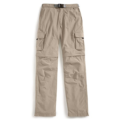 EMS Men's Camp Cargo Zip-Off Pants Fossil White 32/32