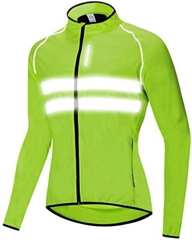 自転車スーツ ジャージ スキンスーツ 反射性ストリップ 夜間安全 全5サイズ