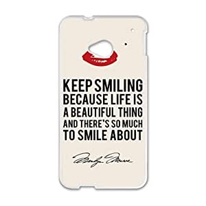 marilyn monroe miami heat Phone Case for HTC One M7 by Maris's Diary
