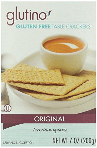 Glutino Gluten Crackers Free (Glutino Gluten Free Crackers, Table, 7 Oz)