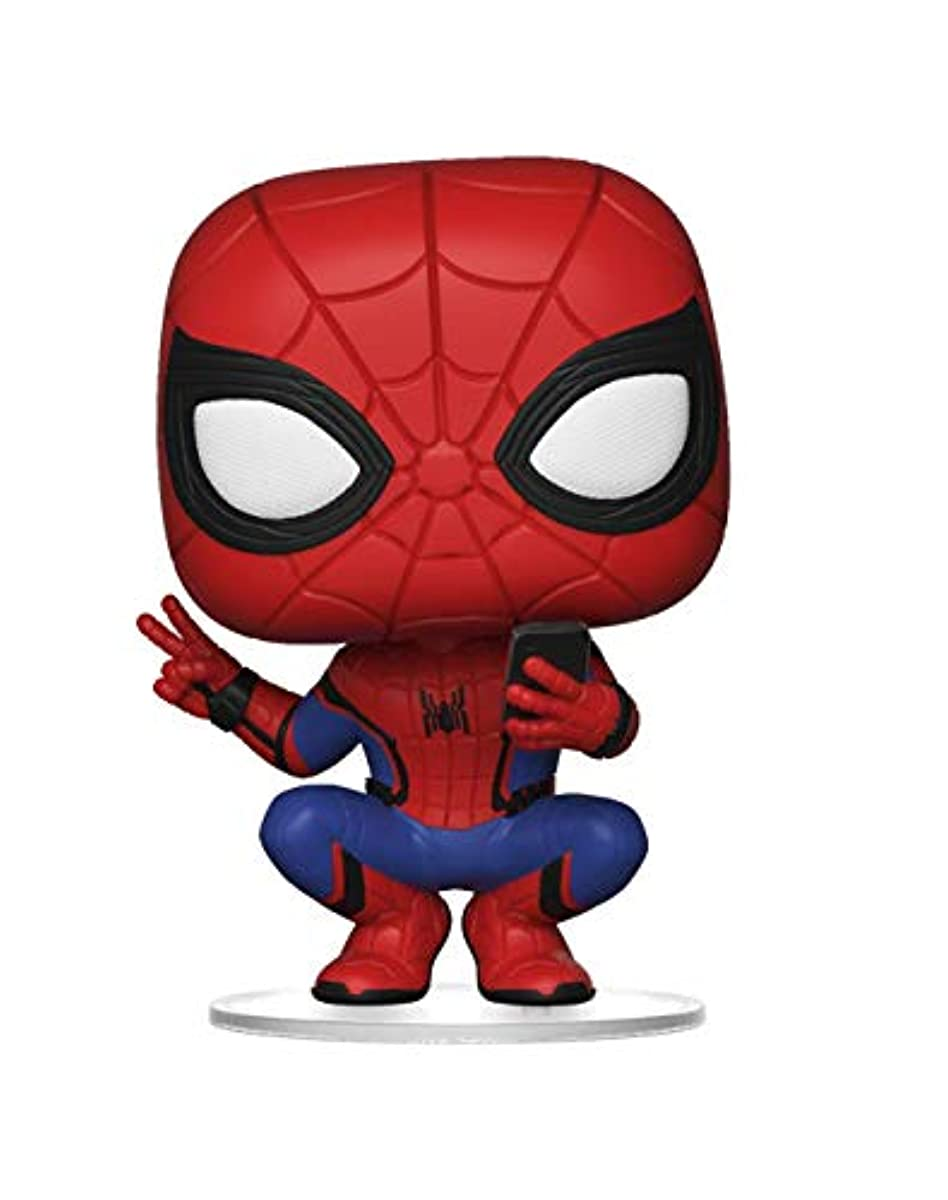 Funko 39403 POP Marvel Far from Home-Spider-Man Hero Suit Spiderman Collectible Figure, Multicolor