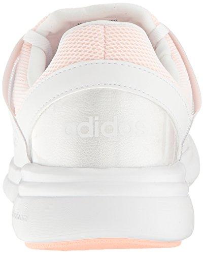 Adidas Neo Womens Cloudfoam Xpression Chaussure De Course Blanc / Blanc / Brume Corail