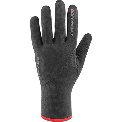 Louis Garneau Course Attack 2 Glove: Black LG - Louis Garneau Nylon Gloves