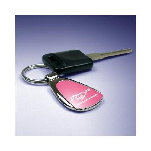 OEM Ford Logo en m/étal chrom/é Porte-cl/és Porte-cl/és