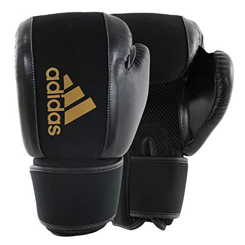adidas Washable Black/Gold Boxing Gloves - L/XL (Boxing Adidas)