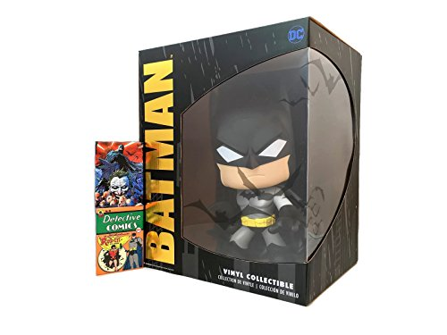 "Batman 10"" Super Deluxe Pop by Funko Bundled w/ 2 Detective Comic Magnets"