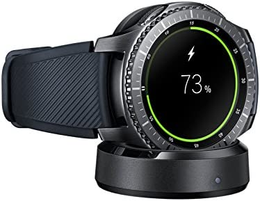Genuine Samsung Qi Wireless Charging Dock Cradle Charger For Gear S3 Classic,Frontier SM-R760 with 3FT Micro USB /& Stylus New