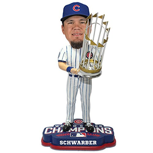 Kyle Schwarber Chicago Cubs 2016 World Series Champions Player Bobblehead