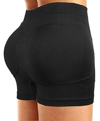 Hip Pads Butt (Ceesy Womens Butt Lifter Padded Hip Enhancer Shapewear Control Panties Underwear)